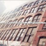 commercial building brown stone repair