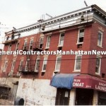 commercial building cornice repair 2