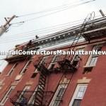 commercial building cornice repair 3