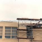 commercial parapet wall repair brick