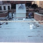 flat roof installation
