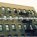 new parapet wall commercial building