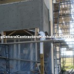 stucco work in progress